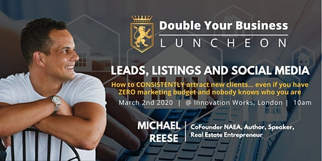 Double Your Business Luncheon - Mar 2nd London tickets