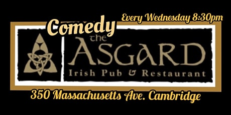 Comedy at the Asgard! tickets