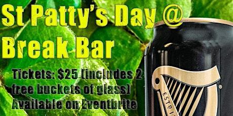 Break Bar St. Patty's Day Bash! tickets