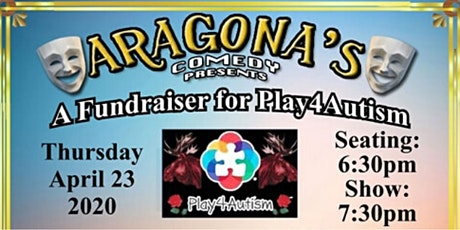 Aragona's Comedy Presents A Fundraiser For Play4Autism tickets