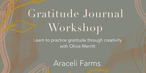 Gratitude Journal Workshop