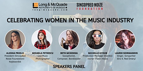 Celebrating Women in The Music Industry tickets