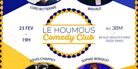 Le Houmous Comedy Club - S01E11 billets