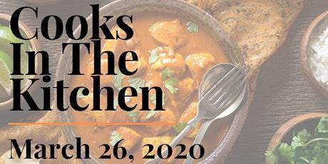 Cooks in The Kitchen - Butter Chicken Night tickets