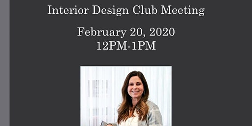 Northern Virginia Community College Interior Design Club Meeting