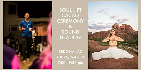 Soul Lift Cacao Ceremony & Sound Healing ~ 3/19 tickets