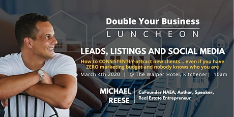 Double Your Business Luncheon - Mar 4th Kitchener tickets