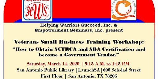 Veteran-Owned Business: How to Obtain SCTRCA and SBA Certifications.