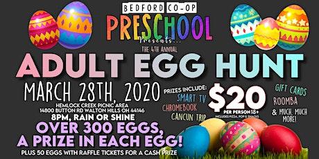 (POSTPONED) Adult Egg Hunt tickets