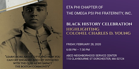Black History Celebration - Highlighting Colonel Charles D. Young tickets