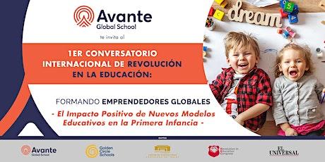 1er Conversatorio Internacional de Revolución en la Educación entradas