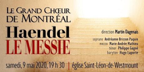 Le Messie de Haendel tickets