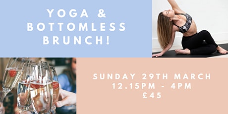 Yoga & Bottomless Brunch! tickets