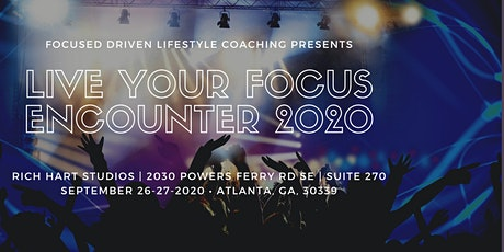 Live Your Focus Encounter 2020 tickets