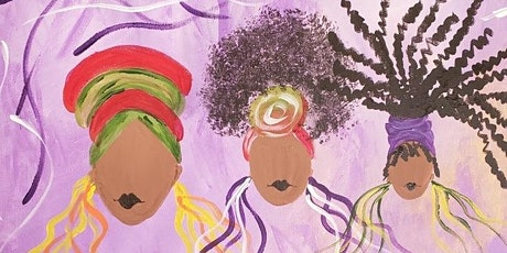 Celebrate Sistahood: Sip and Paint tickets