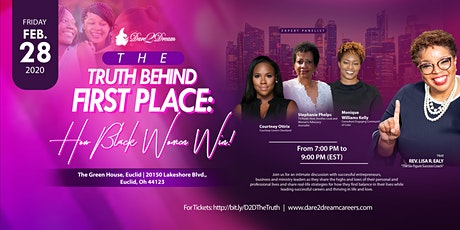 The Truth Behind First Place: How Black Women Win! tickets