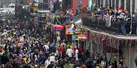 Bourbon Street Mardi Gras Balcony 416  Bourbon tickets
