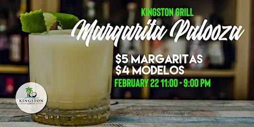 Margarita Palooza - National Margarita Day at Kingston Grill