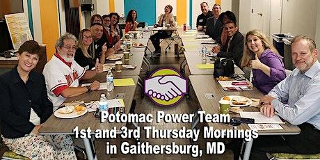 Potomac Power Team Netfast tickets