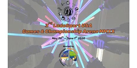 3rd LudoSport USA Games & Championship Arena MMXX tickets