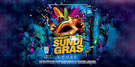 Sundi Gras Party at Level Uptown tickets