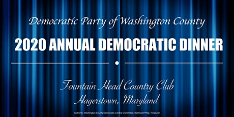 2020 Annual Democratic Dinner tickets