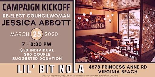 Councilwoman Jessica Abbott's Campaign Kickoff!