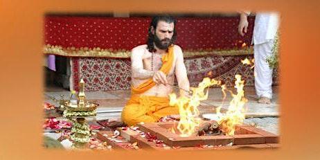 Ganapathi Homa by Br. Shantamrita Chaitanya