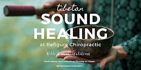Tibetan Sound Healing tickets