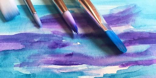 Beginning Watercolor Art Class- March 25th