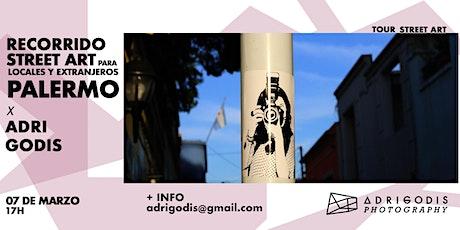 RECORRIDO  STREET ART PARA LOCALES Y EXTRANJEROS X ADRI GODIS  entradas