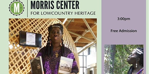 Queen Quet presents on Gullah/Geechee at the Morris Center for Lowcountry