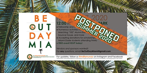 Be Out Day Miami >> POSTPONED until Summer 2020