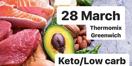 KETO/Low Carb Cooking Class tickets