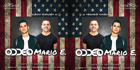 Free Presidents Day Celebration Event - DJs ODDEO(SF) & MARIO E. (Vegas) tickets