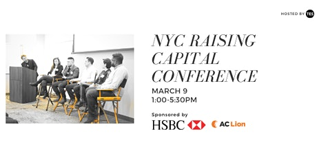 NYC Raising Capital Conference hosted by The Entrepreneurship Society tickets