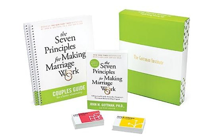 Seven Principles for Making Marriage Work image