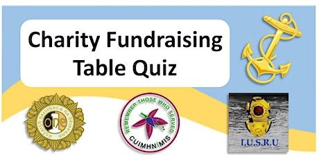 Charity Fundraising Table Quiz for O.N.E &  I.U.S.R.U tickets