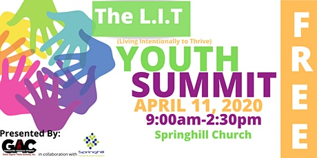 The L.I.T. Youth Summit 2020 tickets