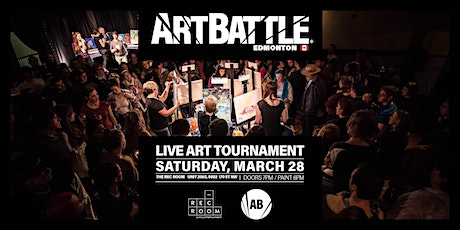 Art Battle Edmonton - March 28, 2020 tickets