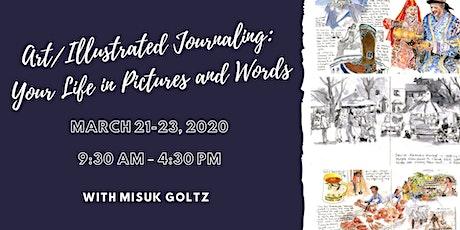Art Illustrated Journaling tickets