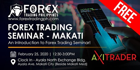 Free Forex Trading Seminar in Makati tickets