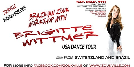 Zoukville March Workshop w/ Brigitte Wittmer tickets