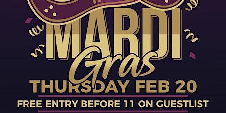 MARDI GRAS @ Modrn Nightclub - Thursday February 20 tickets