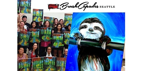 Learn to Paint a cute Sloth! (03-29-2020 starts at 2:00 PM) tickets