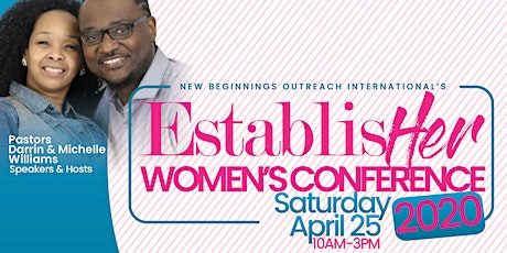 EstablisHer Women's Conference 2020 tickets