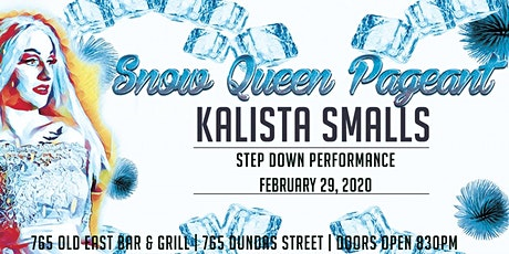 4th Annual Snow Queen Pageant tickets