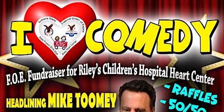 I ❤ comedy FOE fundraiser tickets