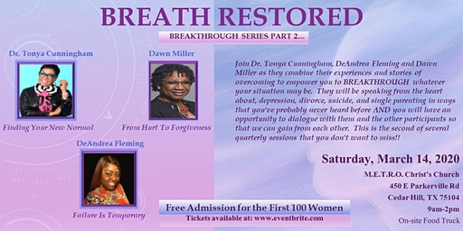 Breakthrough Series: Breath Restored