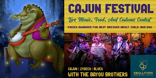 Cajun Festival With Live Music, Food, And Costume Contest